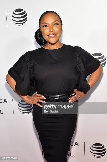 Lynn Whitfield attends the Tribeca Tune In Greenleaf at BMCC John Zuccotti Theater on April 20 2016 in New York City