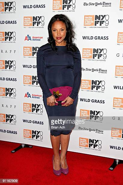 Lynn Whitfield attends the Wild Grass premiere at Alice Tully Hall Lincoln Center on September 25 2009 in New York City