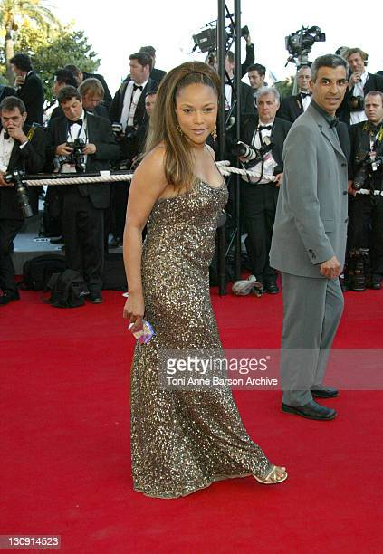 Lynn Whitfield during 2004 Cannes Film Festival The Life and Death of Peter Sellers Premiere at Palais Du Festival in Cannes France