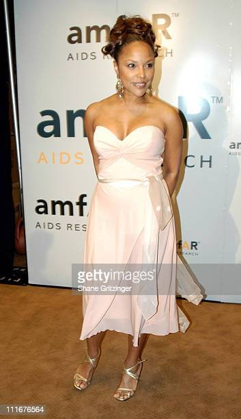 Lynn Whitfield during amfAR's Fifth Annual Tribute To The Pioneers In The Fight Against AIDS at Gotham Hall in New York City New York United States