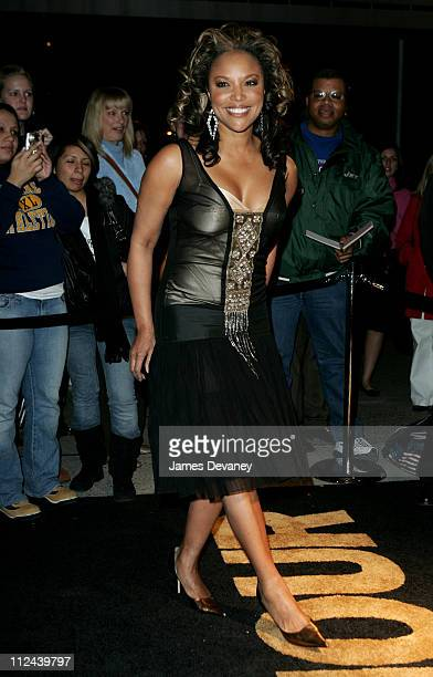 Lynn Whitfield during Glamour Magazine Salutes The 2005 Women of the Year Arrivals at Avery Fisher Hall in New York City New York United States