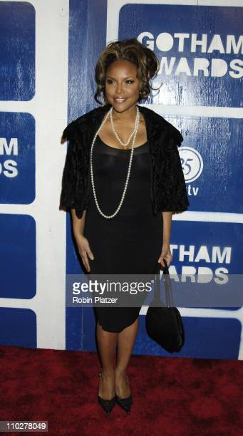 Lynn Whitfield during IFP's 15th Annual Gotham Awards at Pier Sixty at Chelsea Piers in New York City New York United States
