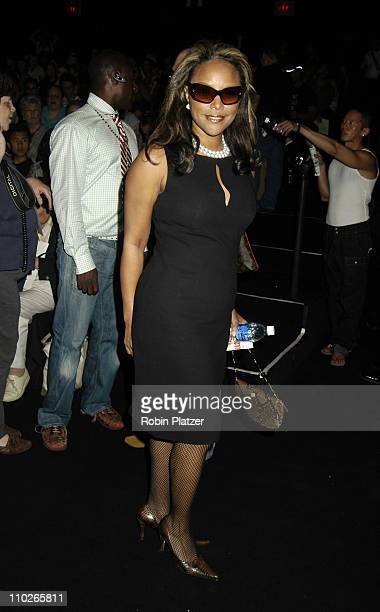 Lynn Whitfield during Olympus Fashion Week Spring 2006 Zang Toi at The Tents at Olympus Fashion Week in New York New York United States