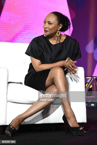 Lynn Whitfield speaks onstage at the 2017 ESSENCE Festival presented by CocaCola at Ernest N Morial Convention Center on July 1 2017 in New Orleans...
