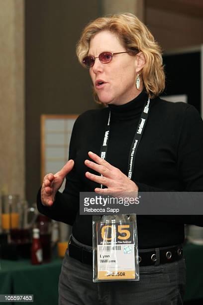 Lynn Willilams, Utah Film Commissioner during 2005 Sundance Film Festival - Sponsor Welcome Brunch at Marriott Cafe and Lounge in Park City, Utah,...