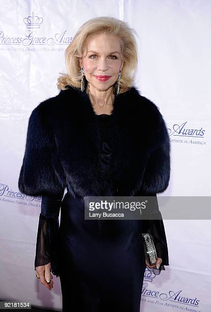 Lynn Wyatt attends the 2009 Princess Grace Awards Gala at Cipriani 42nd Street on October 21 2009 in New York City