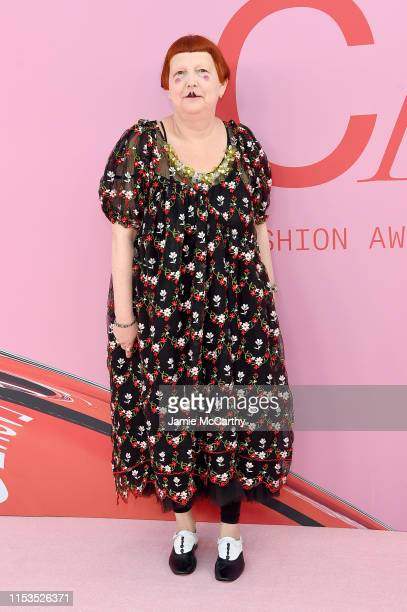 Lynn Yaeger attends the CFDA Fashion Awards at the Brooklyn Museum of Art on June 03, 2019 in New York City.