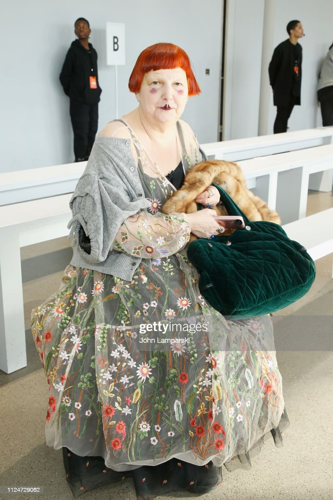Luar - Front Row - February 2019 - New York Fashion Week: The Shows : News Photo