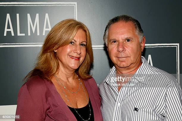Lynn Yanknowitz and Stuart Yanknowitz attend ALMA An Evening of Soul at Alma 30 W 21st St on June 25 2008 in New York City