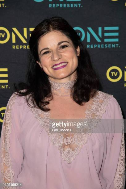 Lynne Adrianna attends the 2019 Pan African Film FestivalTV One Presents Premiere Screening Of 'Loved To Death' at Baldwin Hills Crenshaw Plaza on...