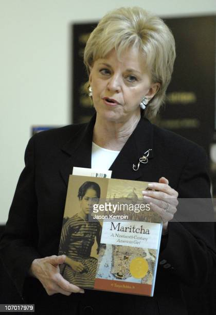 Lynne Cheney during Lynne Cheney Presents The 2006 James Madison Book Award to Tonya Bolden Author of ``Maritcha a Nineteenth Century American Girl''...