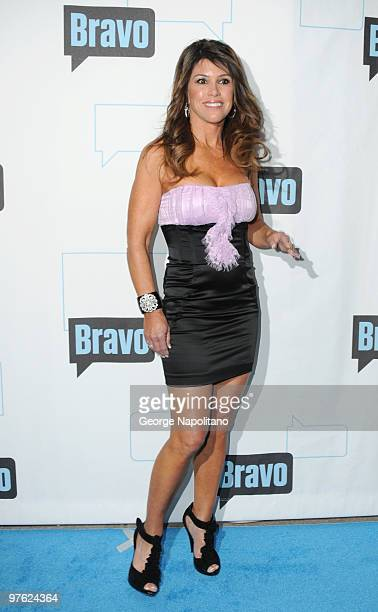 Lynne Curtin from the Real Housewives of OC attend Bravo's 2010 Upfront Partyat Skylight Studio on March 10 2010 in New York City