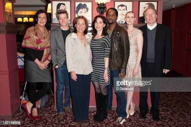 Lynne Meadow Hunter Parrish Drama Desk president Isa Goldberg Drama Desk board member USA Today theater critic Elysa Gardner Blair Underwood Cynthia...
