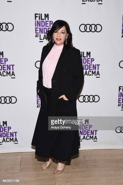 Lynne Ramsay attends the Film Independent at LACMA hosts special screening of 'You Were Never Really Here' at Bing Theater At LACMA on April 5 2018...