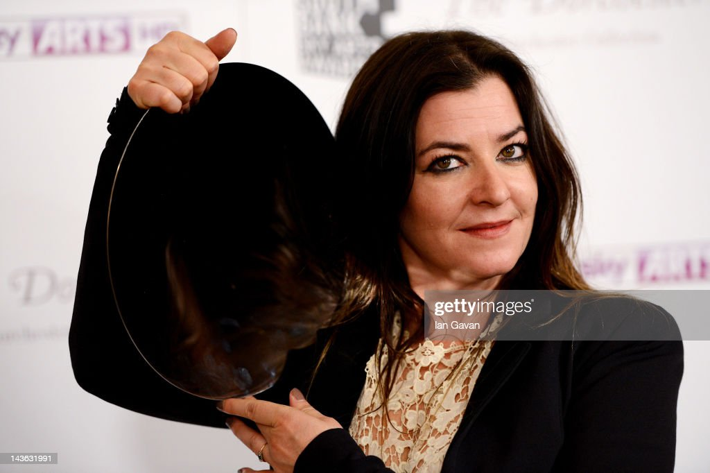 Lynne Ramsay winner of the film award, poses during the South Bank Sky Arts Awards at Dorchester Hotel on May 1, 2012 in London, England.