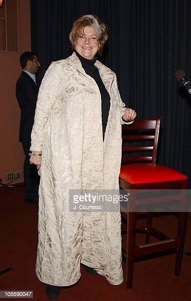 """Lynne Rossetto Kasper during """"The Splendid Table"""" Live Taping to Kick-off The Gourmet Institute at Museum of Television and Radio in New York City,..."""