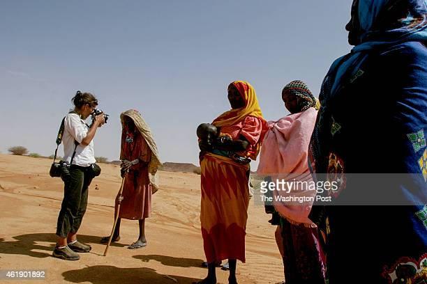 Lynsey Addario photographs internally displaced people in the Shigek Karo region of northern Darfur Sudan