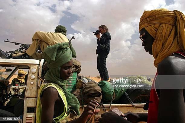 Lynsey Addario photographs SLA rebels in Darfur Sudan