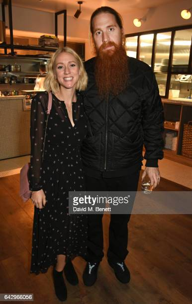 Lynsey Alexander and Duffy arrive as Topshop and Leandra Medine host dinner to celebrate London Fashion Week on February 19 2017 in London England
