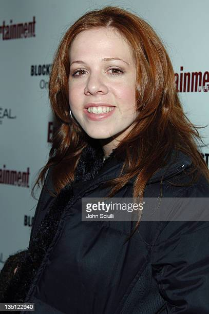 Lynsey Bartilson during 2006 Sundance Film Festival Entertainment Weekly Sundance Opening Weekend Party Red Carpet at The Shop in Park City Utah...