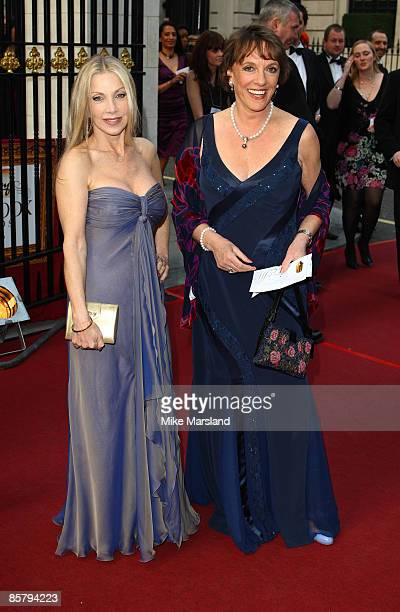 Lynsey De Paul and Ester Rantzen attend the Galaxy British Book Awards at Grosvenor House on April 3 2009 in London England