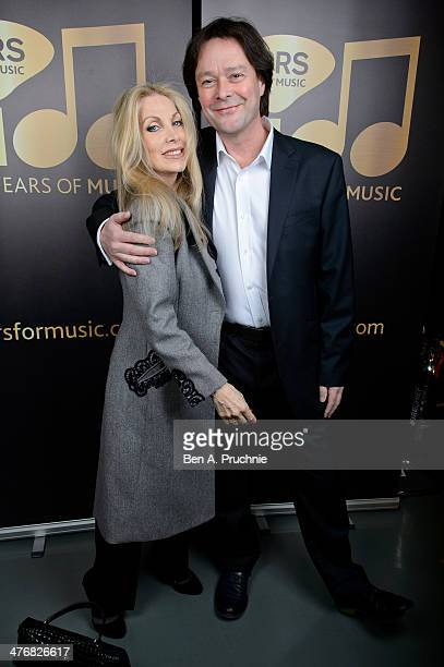 Lynsey de Paul attends PRS for Music 100 Years of Music VIP launch at Getty Images Gallery on March 5 2014 in London England