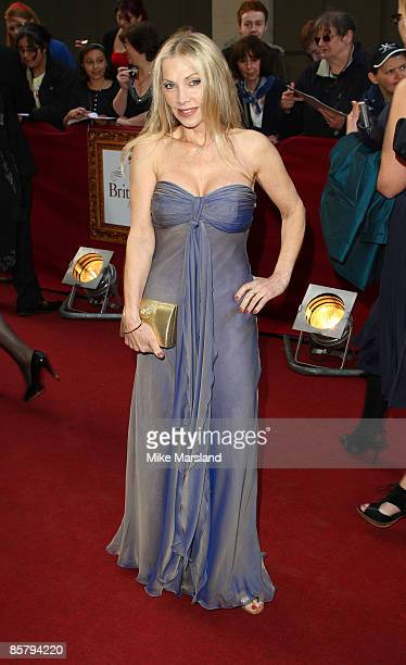 Lynsey De Paul attends the Galaxy British Book Awards at Grosvenor House on April 3 2009 in London England