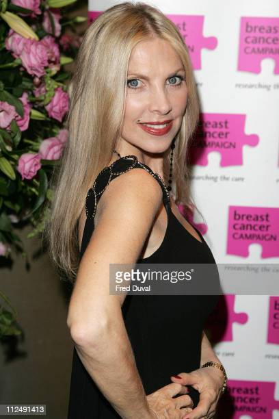 Lynsey de Paul during Breast Cancer Awareness Month The Pink Ribbon Ball 2006 Inside Arrivals at Dorchester Hotel in London Great Britain