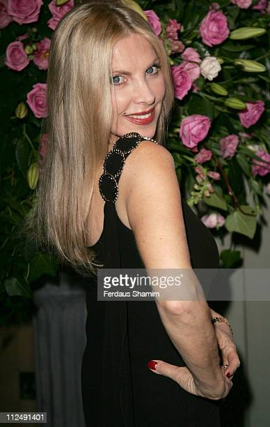Lynsey de Paul during Breast Cancer Campaign's Pink Ribbon Ball at Dorchester Hotel in London Great Britain