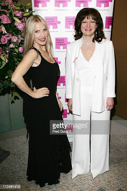 Lynsey de Paul with Debbie Wiseman MBE during Breast Cancer Awareness Month The Pink Ribbon Ball 2006 Inside Arrivals at Dorchester Hotel in London...