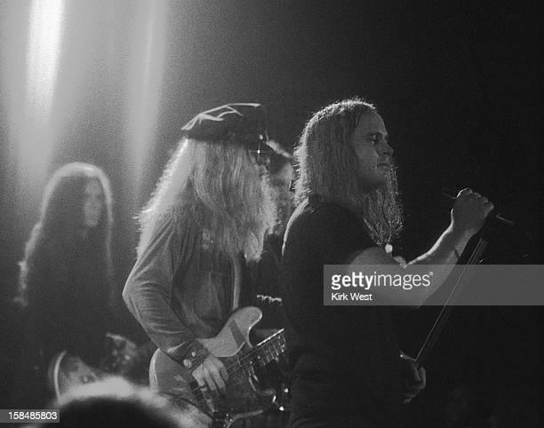 Lynyrd Skynyrd performs at the Aragon Ballroom Chicago Illinois June 21 1974