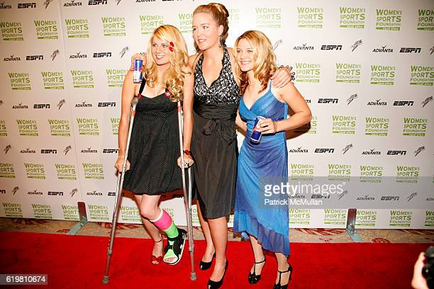 LynZ Adams Hawkins Grete Eliassen and Ashley Fiolek attend WOMEN'S SPORTS FOUNDATION Annual Salute at The Waldorf Astoria on October 14 2008 in New...