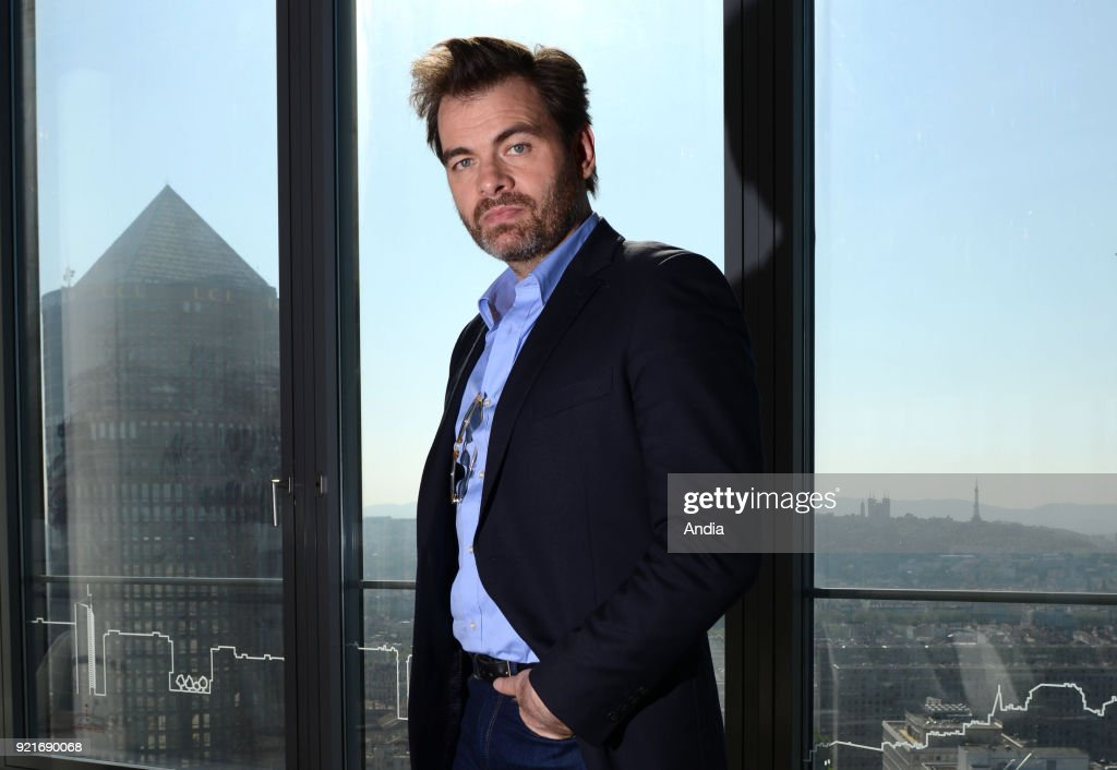 Lyon (south-eastern France). . Actor and film director Clovis Cornillac, author of Blind Date (French title: 'Un peu, beaucoup, aveuglement'). A French romantic comedy film co-written with his wife Lilou Fogli.