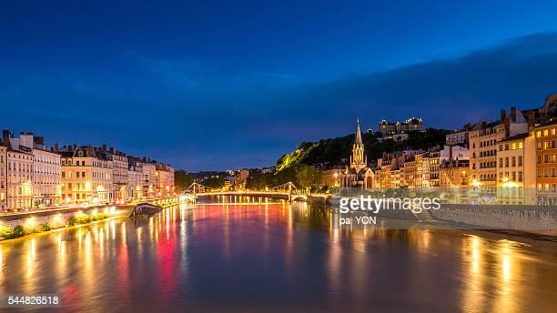 Lyon city, France