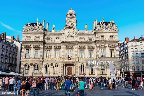 Lyon City Hall on Place des Terreaux