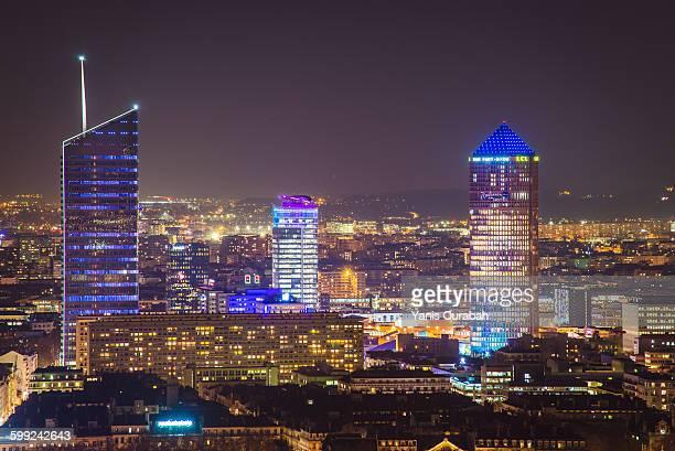 Lyon City, Tour Incity, le crayon Part-Dieu