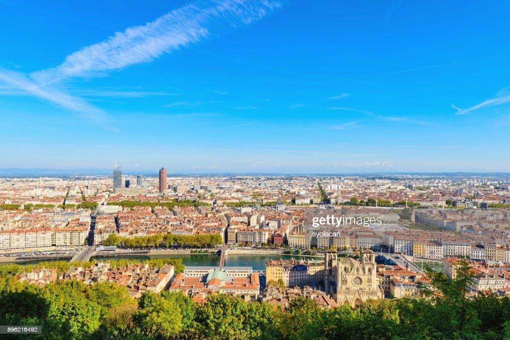 Lyon cityscape : Stock Photo