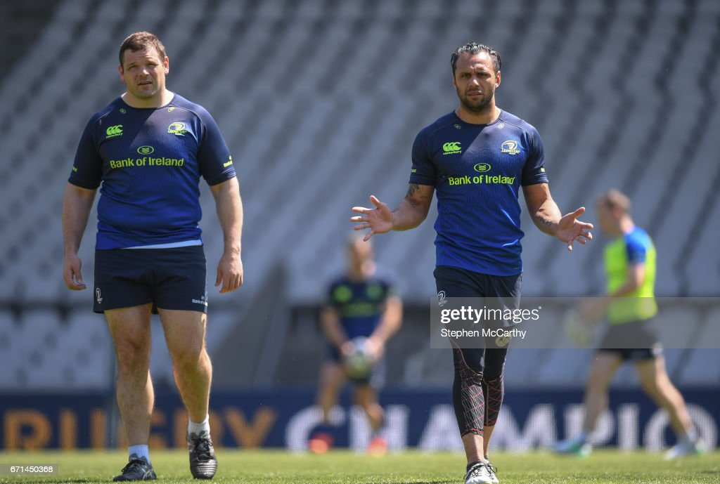 Leinster Rugby Captain's Run & Press Conference
