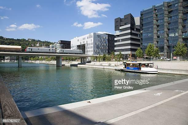 Lyon France The Confluence Development