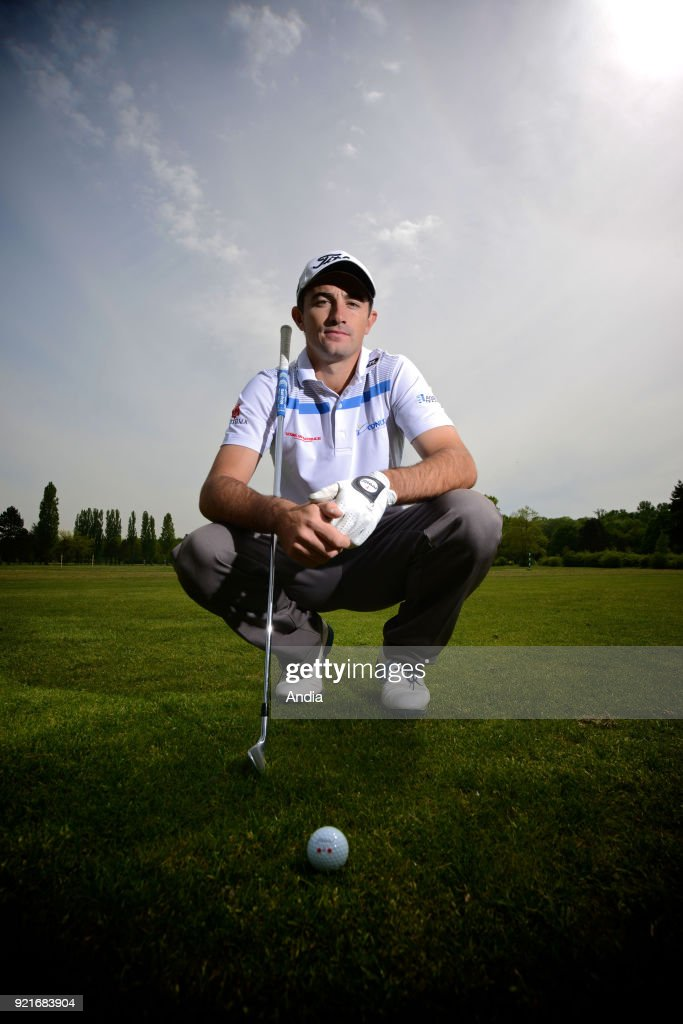 Lyon (south-eastern France). . French professional golfer Gary Stal (23 years old) who won the 2015 Abu Dhabi HSBC Golf Championship.
