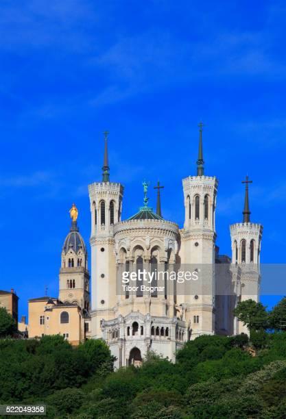 Lyon, Notre-Dame de Fourvire, basilica,