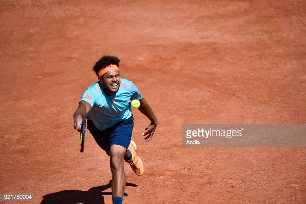 Lyon on professional tennis player JoWildfried Tsonga won the semifinal match of the ATP World Tour 250 tournament in Lyon against Georgian player...
