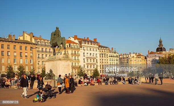 Lyon: place Bellecour (france)