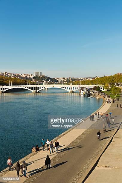Lyon: Quai Augagneur (France)