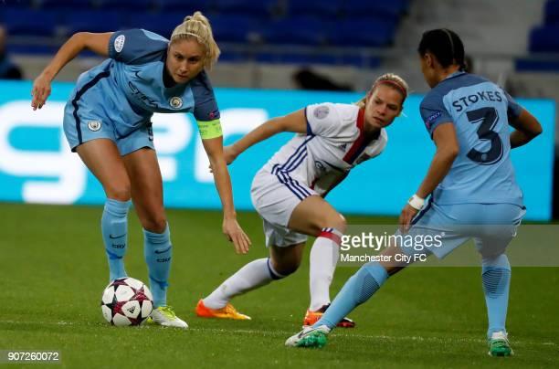 Lyon v Manchester City UEFA Women's Champions League Semi Final Second Leg Parc Olympique Lyonnais Manchester City's Steph Houghton