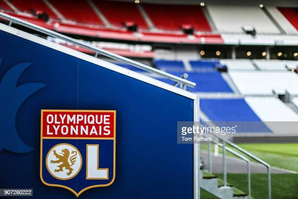 Lyon v Manchester City UEFA Women's Champions League Semi Final Second Leg Parc Olympique Lyonnais General view of Parc Olympique Lyonnais
