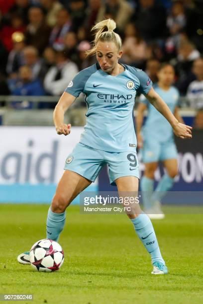 Lyon v Manchester City UEFA Women's Champions League Semi Final Second Leg Parc Olympique Lyonnais Manchester City's Toni Duggan