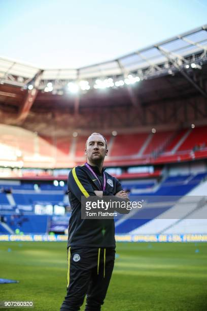Lyon v Manchester City UEFA Women's Champions League Semi Final Second Leg Parc Olympique Lyonnais Manchester City's Nick Cushing