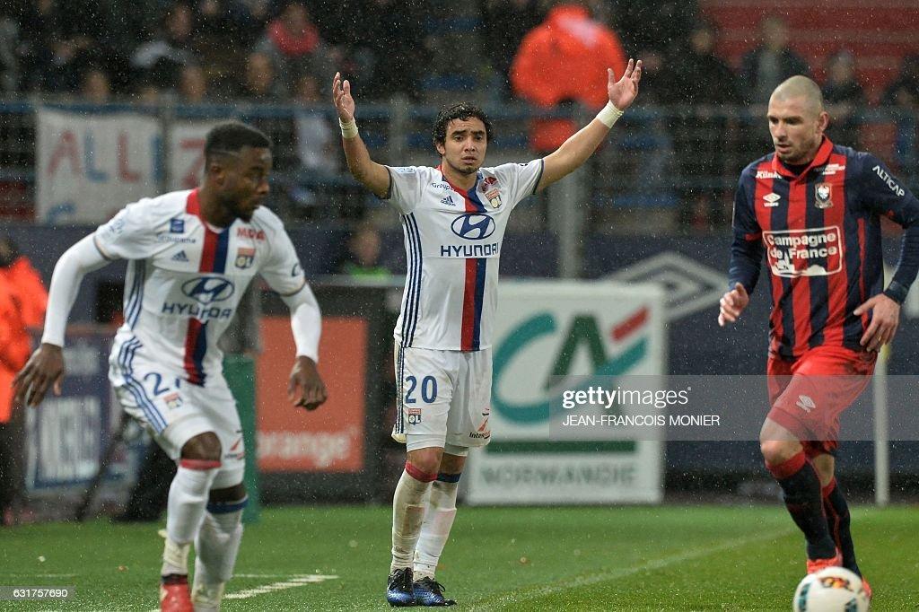 SM Caen v Olympique Lyonnais - Ligue 1