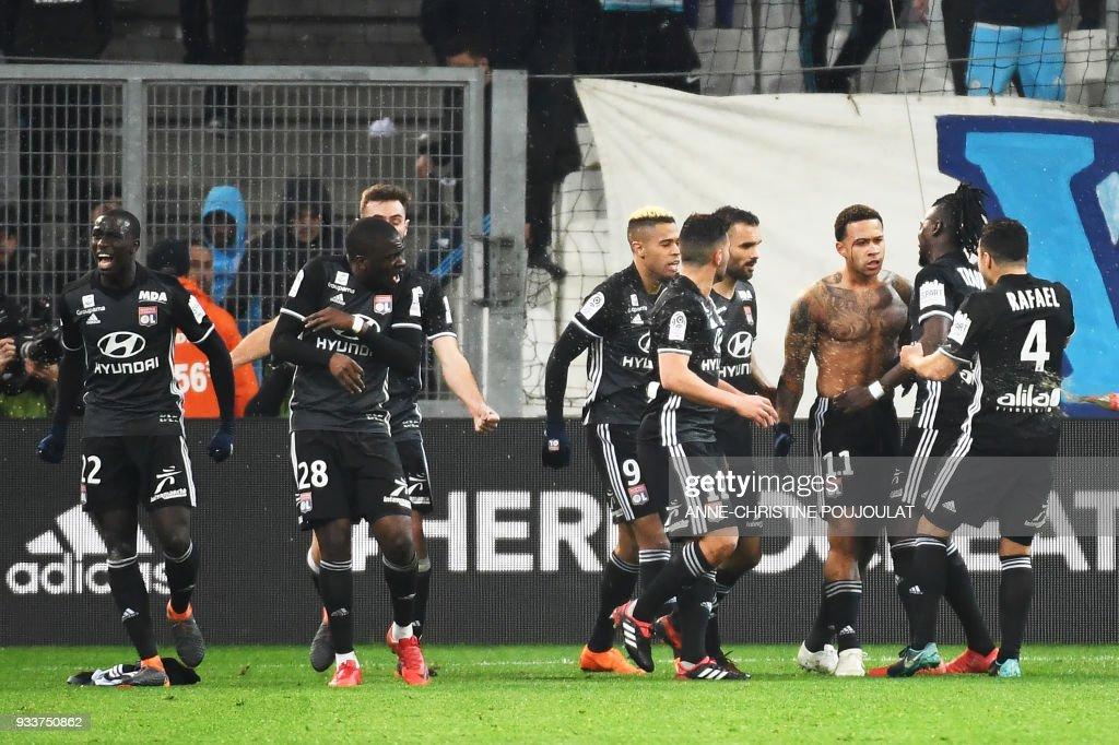 Olympique Marseille v Olympique Lyonnais - Ligue 1
